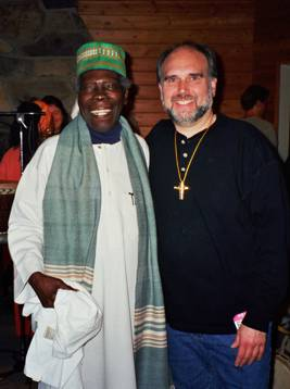 Baba Olatunji and Randy Brody